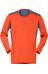 Norrøna M's Falketind Super Wool Shirt Hot Chili